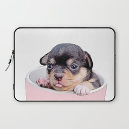 pup in a cup Laptop Sleeve