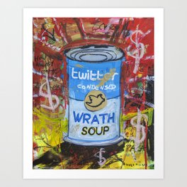 Wrath Soup Preserves Art Print