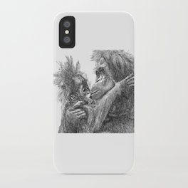 Orang Utan iPhone Case
