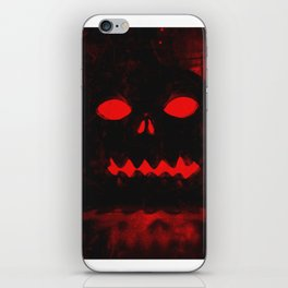 Angry Pumpkin iPhone Skin