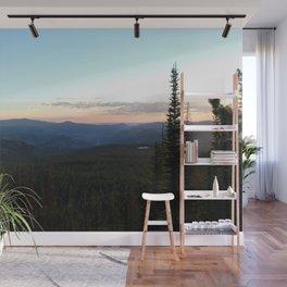 Rocky Mountain Sunrise Wall Mural