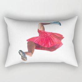 Where woman begins Rectangular Pillow