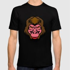MONKEY BIZ MEDIUM Mens Fitted Tee Black