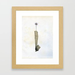 Me gusta tanto... Framed Art Print
