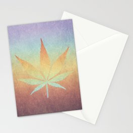 Cannabis sativa Stationery Cards