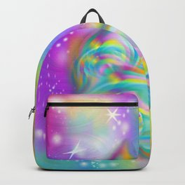 Swirl Slime Galaxy Backpack