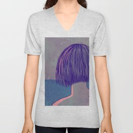 At the sea Unisex V-Neck