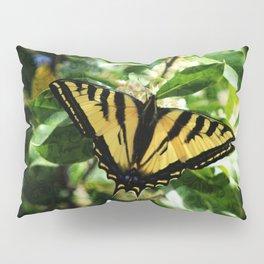 Western Tiger Swallowtail Butterfly Pillow Sham