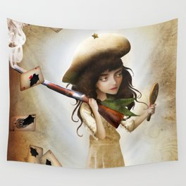 The Little Sharpshooter Wall Tapestry
