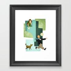 Sing! Framed Art Print