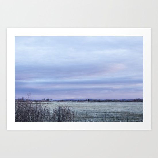That Time of Day Art Print