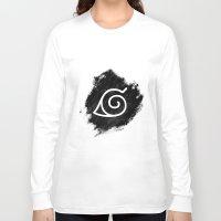naruto Long Sleeve T-shirts featuring Naruto by Bradley Bailey