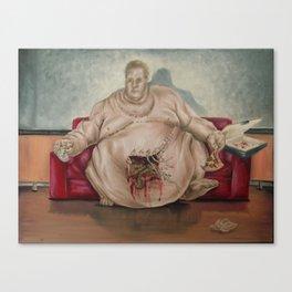 The Unclean Glutton Canvas Print