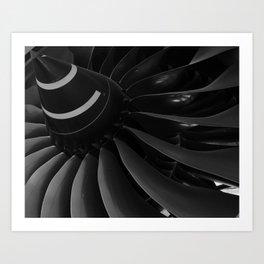 Turbine Blades Art Print