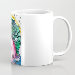 Orb Headed Alien Creature Coffee Mug