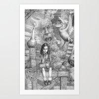 Miette Art Print