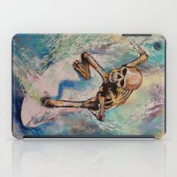 surfer iPad Cases featuring Surfer by Michael Creese