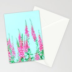 Summer Pastell Flowers by the Way Stationery Cards