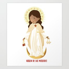 Our lady of Mercy Art Print