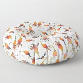 Rose Hips Floor Pillow