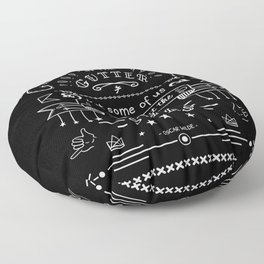 Look at the stars Floor Pillow