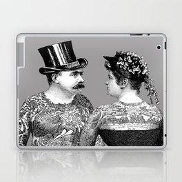 Tattooed Victorian Lovers Laptop & iPad Skin