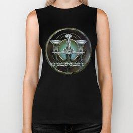"""""""Astrological Mechanism - Libra"""" Biker Tank"""
