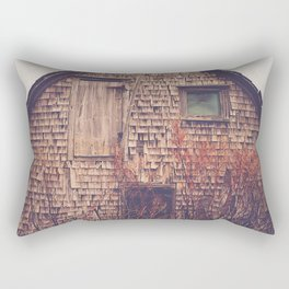 She Created Stories About Abandoned Houses Rectangular Pillow