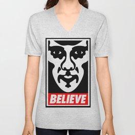 Believe - Sherlock Unisex V-Neck