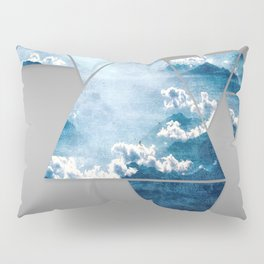 Fragmented Clouds Pillow Sham
