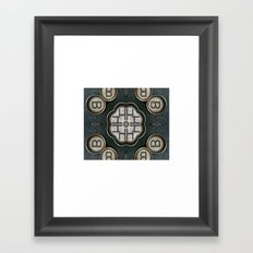 keystrokes 2 Framed Art Print