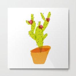 Artus Cactus Metal Print