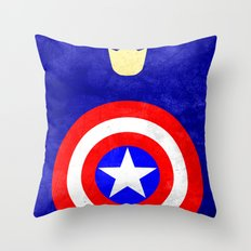Captain America: Avengers Movie Variant Throw Pillow