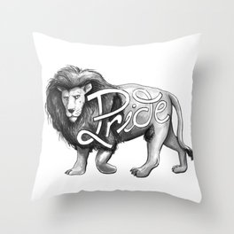 Pride Lion Throw Pillow
