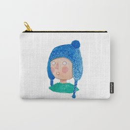 People Watercolor Carry-All Pouch