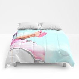 summer vibes Comforters