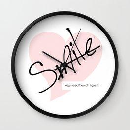 Smile! - Registered Dental Hygienist Wall Clock