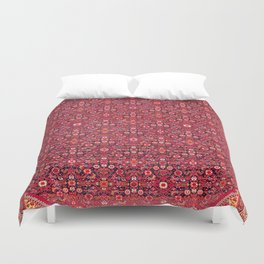 Malayer West Persian Rug Print Duvet Cover