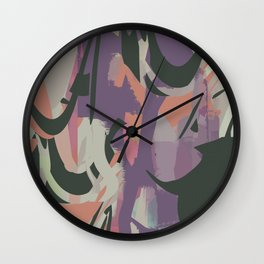 Abstract Painting No. 20 (Hypelessness) Wall Clock