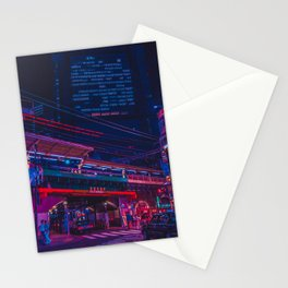 Neo Tokyo Stationery Cards