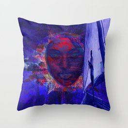 Canvas Miracles Throw Pillow