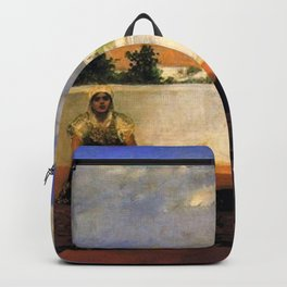 Jean-Joseph Benjamin-Constant - Dance of the Veil Backpack