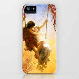 The Spring of Our Love iPhone Case