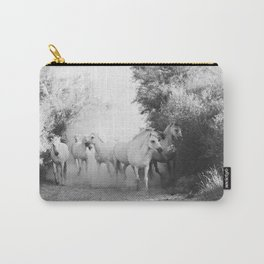 horse print #1 Carry-All Pouch