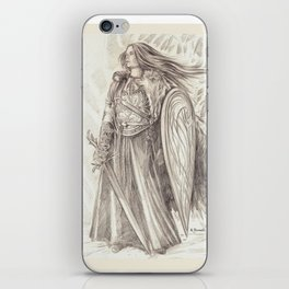 Shield Maiden of Avalon iPhone Skin