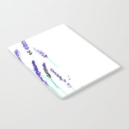Lavender & Bees Notebook