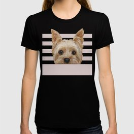 Yorkshire Terrier original painting print T-shirt