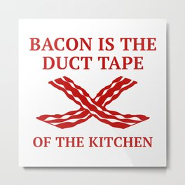Duct Tape Of The Kitchen Metal Print