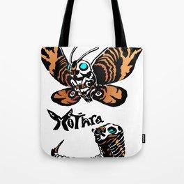 Mothra Kaiju Print Tote Bag