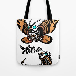 Mothra Kaiju Print Tote Bag
